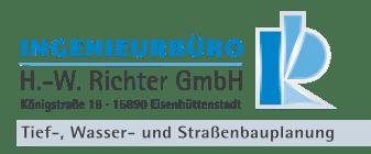 Ingenieurbüro H.-W. Richter GmbH Eisenhüttenstadt Logo